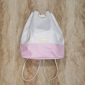 Juicy Couture Pink White Backpack